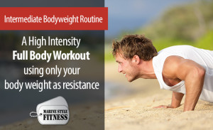 Intermediate Bodyweight Routine