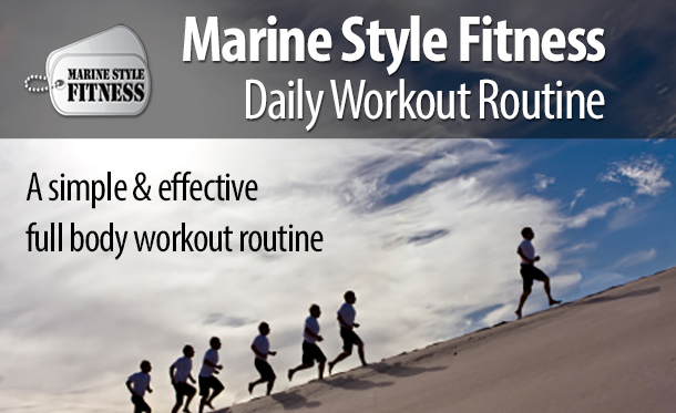 Marine Corps Daily Workout Routine
