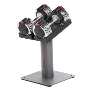 Weider Core 100 Adjustable Dumbbells with Stand